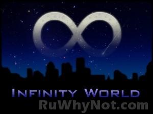 Логотип Infinity World